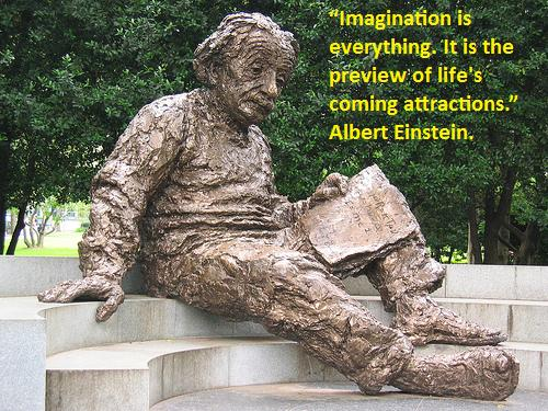 Imagination Quote by Einstein