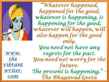 Quote: The Bhagavad Geeta