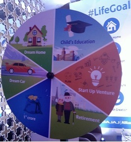 Bajaj Allianz Meet Life Goal Game