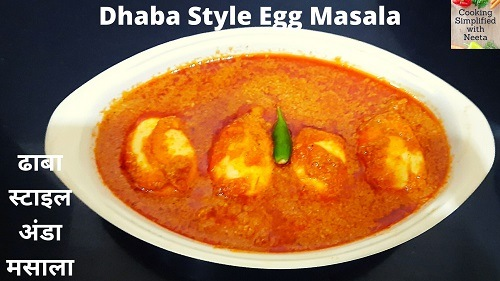 How To Make Egg Masala Curry