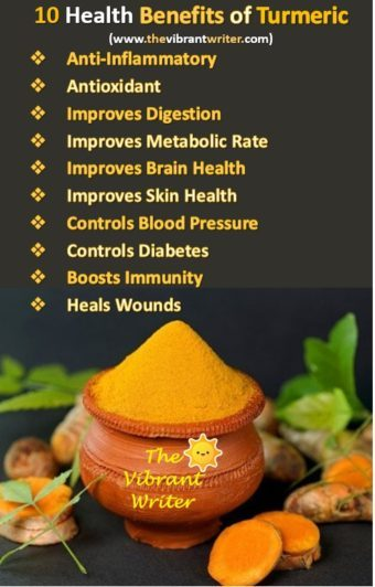 10 Benefits Of Turmeric / Haldi: A Super Spice For Weight Loss And Much More.
